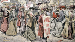 1893—First Women Voters in New Zealand
